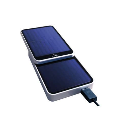 Solarworld Suncharger powerbank op zonne energie