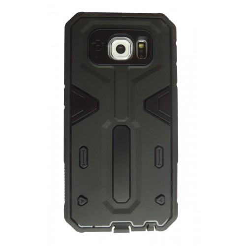 XF Rugged Armor case Samsung Galaxy S6 Edge zwart