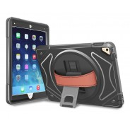 360 graden draaibare, rugged, iPad 9.7 (2017 & 2018) / Air 2 / Pro 9.7 case met screenprotector