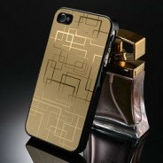 iPhone 4 / 4s aluminium hoesje goud