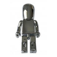 USB-stick Robot zilver 8GB