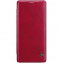 Nillkin Qin Samsung Galaxy Note 9 leren boekhoesje rood
