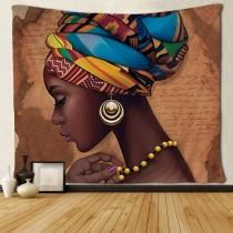 Ulticool - Vrouw Elegant Haarband Sieraden - Wandkleed - 200x150 cm - Groot wandtapijt - Poster