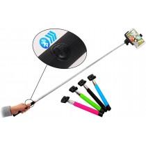 Selfie stick Z07-5 draadloze smartphone monopod