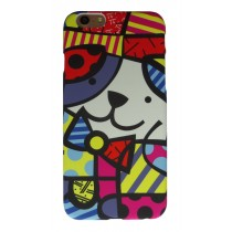 Britto case iPhone 6 en iPhone 6S Hondje