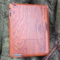 Houten iPad 3 of 4 case kersenhout