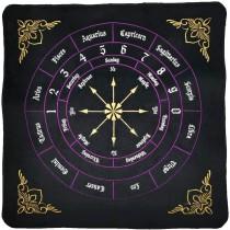 Ulticool - Zodiac Signs Astrologie Gothic Mandala - Wandkleed - 200x150 cm - Groot wandtapijt - Poster