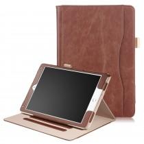 iPad 10.2 (2019) / iPad Air 3 10.5 (2019) / iPad Pro 10.5 (2017) leren case / hoes bruin incl. standaard met 3 standen