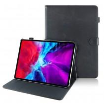iPad Pro 11 (2020) leren hoes / case zwart