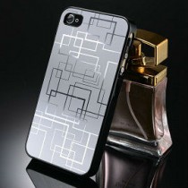 iPhone 4 aluminium hoesje zilver