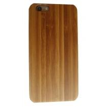 iPhone 6 Plus en iPhone 6S Plus hoesje met bamboe houten achterkant