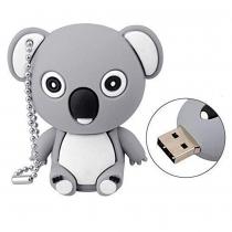 USB-stick koala beer grijs 16GB