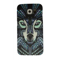 Luxo case Glow in the dark Wolf Samsung Galaxy S6 Edge