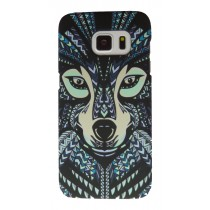 Luxo case Glow in the dark Wolf Samsung Galaxy S7