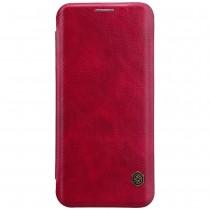 Nillkin Qin Samsung Galaxy S9+ leren boekhoesje rood