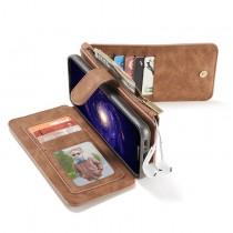 Samsung Galaxy S8 Leren portemonnee hoesje met uitneembare telefoon case