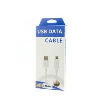 Micro USB kabel 2 meter, premium kwaliteit