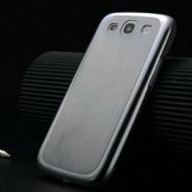 Samsung Galaxy S3 aluminium hoesje zilver