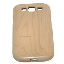 Samsung Galaxy S3 esdoorn houten hoesje