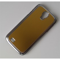 Samsung Galaxy S4 aluminium hoesje goud