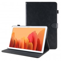 Samsung Galaxy Tab A7 10.4 (2020) leren hoes / case zwart