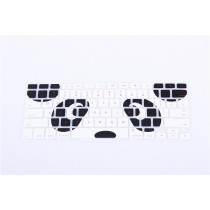 Panda print Keyboard Cover Protector skin Toetsenbord bescherming Macbook Air, Pro