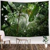 Ulticool - Tropisch Bos Natuur Eco Groene Planten - Wandkleed - 200x150 cm - Groot wandtapijt - Poster