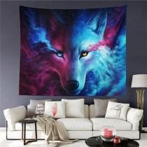 Ulticool - Wolf - Wandkleed - 200x150 cm - Groot wandtapijt - Poster