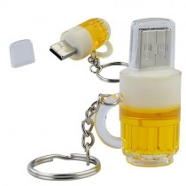 USB-stick bier pul / glas 16GB