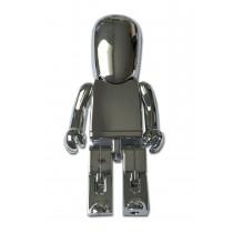 USB-stick Robot zilver 8GB