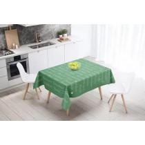 Ulticool Tafelkleed Groot Tafelzeil Waterdicht - 140 x 240 cm - Tekst Positief Denken Zen Geluk Zelfvertrouwen - Groen