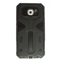 XF Rugged Armor case Samsung Galaxy S6 Edge zwart