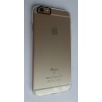 Zeer dun Siliconen Gel TPU iPhone 6 / 6S transparant hoesje case cover met verstevigde camera opening