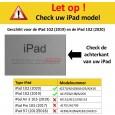 Geschikt voor iPad 10.2 (2019) en iPad 10.2 (2020)