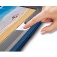 360 graden draaibare, rugged, iPad 9.7 (2017 & 2018) / Air 2 / Pro 9.7 case met screenprotector blauw