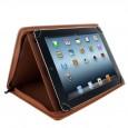 Universele Tablet folio case / hoes voor 8.9'' tot 10,5'' tablets / iPads bruin